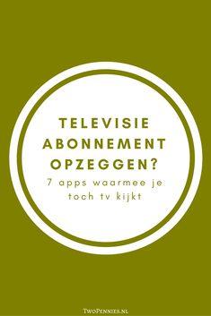 Tips voor mensen zonder tv-abonnement - Two Pennies