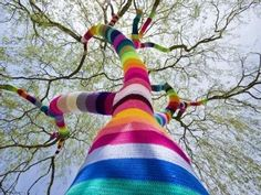 Knitting Guerilla Art