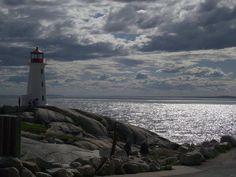 Peggy's Cove Lighthouse, Nova Scotia-Canada