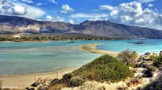 Elafonisi beach, Chania, Crete, Greece