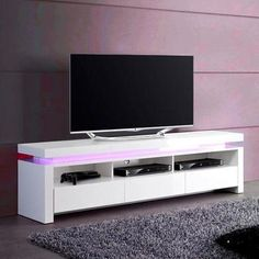 Evoque led tv unit in white high gloss with 3 touch open drawers white tv cabinet . Tv Cabinets, White Cabinets, High Tv Stand, Led Tv Stand, White Tv Cabinet, Tv Stand With Drawers, Infinity Pool, White Tv Stands, Rack Tv