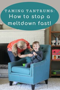 Taming Tantrums: 6 Ways to Stop a Meltdown Fast - Mommy Gone Healthy | A Lifestyle Blog by Amber Battishill