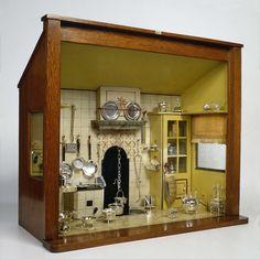 Doll's house kitchen with 45 miniatures, anoniem, c. 1845,  Rijksmuseum Amsterdam