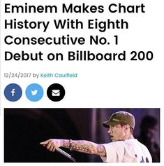 Make Charts, Best Rapper, Save My Life, Eminem, Billboard, My Idol, The Man, All About Time, Shit Happens