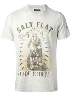 Rude Riders Printed T Shirt - - Farfetch.com