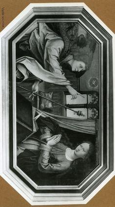 Annonciation | Coimbra[PT], Museu Nacional de Machado de Castro | Maître de Celas (artiste-peintre), Date: 1501 (ca) - 1525 (ca)