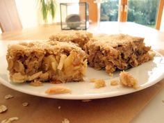Apfel-Haferflocken-Kuchen