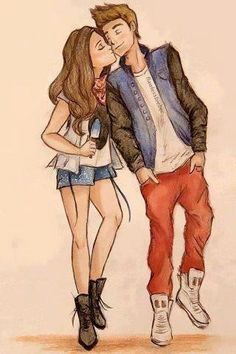 Are Justin bieber couple cartoon has