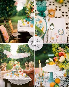garden party by the style files, via Flickr