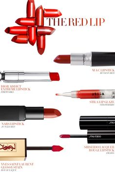 The Red Lip - dramatic, sophisticated, versatile