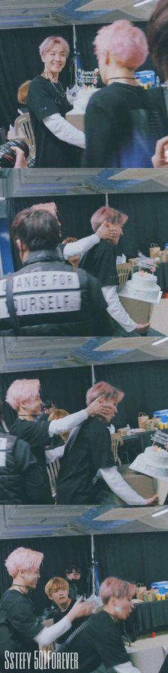 ♥️ BTS || J-Hope || Jimin || V ( in the last pic ) #BurnTheStage