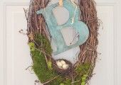 Natural Spring Wreath- At Home with The Barkers - At Home With The Barkers