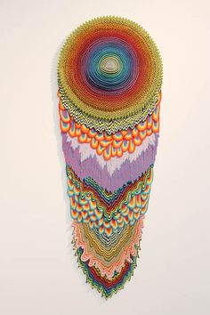 """Jen Stark """"To the Power Of"""" exhibition at Martha Otero Gallery in L.A. love this a lot."""