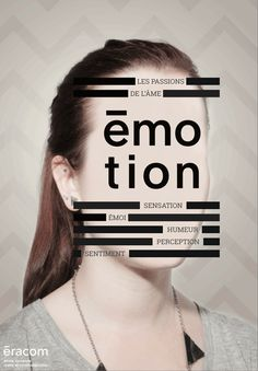 Emotion on Behance Id Design, Book Design, Layout Design, Graphic Design Posters, Graphic Design Typography, Design Graphique, Creative Advertising, Typography Poster, Layouts