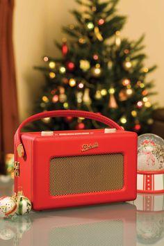 Retro 1950's Radio Christmas