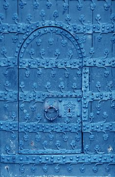 ♡ blue door