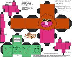 PaperToy_Muppets - Mahna Mahna