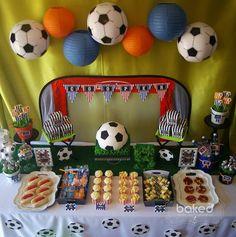 Kickin' Soccer Birthday Party {Planning, Decor, Ideas, Cake, Idea}
