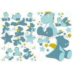 #Stickers déco #Victor et Lucien - #Noukies: Une sélection de produits auto-adhésifs pour faire une jolie chambre à bébé. http://www.avenuedesanges.com/fr/noukies-victor-et-lucien/2684-stickers-deco-5413042384130.html