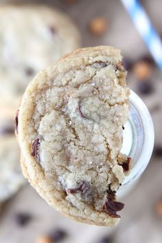 Salted Caramel Chocolate Chip Cookies.  ***Repinning from my Sweets & Treats Board.
