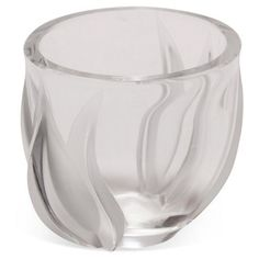 Check out this item at One Kings Lane! Lalique Crystal Tulip Vase