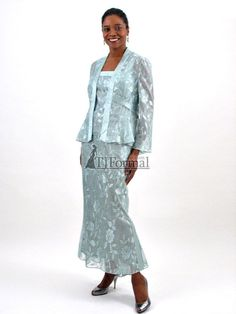 Elegant lace jacket and dress