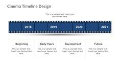 vertical rocket timeline template for powerpoint timeline