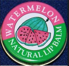 Watermelon Candy Kisses Lip Balm... had this in strawberry vanilla too!  | 21 Smells '90s Girls Will Never Forget