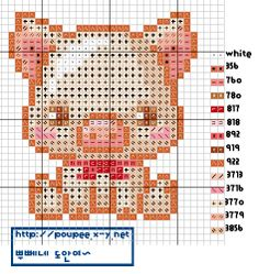 Brilliant Cross Stitch Embroidery Tips Ideas. Mesmerizing Cross Stitch Embroidery Tips Ideas. Kawaii Cross Stitch, Small Cross Stitch, Cross Stitch Baby, Cross Stitch Animals, Cross Stitch Charts, Embroidery Leaf, Cross Stitch Embroidery, Funny Embroidery, Embroidery Patterns