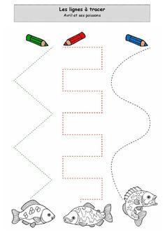 Preschool Writing, Preschool Kindergarten, Preschool Learning, Preschool Activities, Tracing Worksheets, Preschool Worksheets, Kids Cuts, Baby Journal, Pre Writing