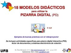 18 modelos de uso de la pizarra digital (ilustrados)