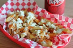 INGREDIENTS2 russet potatoes, peeled and cut into 1/3-inch thick fries1 1/2 pints peanut oilKosher salt, to tasteRanch dressing, for drizzlingHot sauce, for drizzlingCrumbled gorgonzola, for servingFOR THE RANCH DRESSING1/3 cup mayonnaise1/2 cup sour cream, plain yogurt or buttermilk1 clove garlic, minced1 tablespoon minced fresh dill or 1/2 teaspoon dried dill1 tablespoon minced fresh parsley or 1/2 teaspoon dried parsley1/2 teaspoon saltFreshly ground black pepper, to taste The whole…