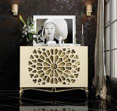 Mobilia Living 7 Palmas added a new photo. Black Sideboard, Modern Sideboard, Wood Sideboard, Modern Dresser, Credenza, Modern Furniture Online, Furniture Design, Wood Furniture, Furniture Makeover