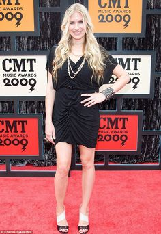 Country star: Holly Williams is the granddaughter of country legend Hank Williams. She mar...