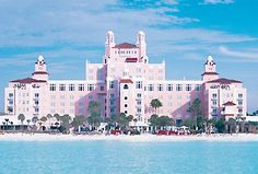 St. Pete's Beach, Florida (Don Cesar's) The one and only Pink Palace :)