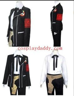 Persona 3 Boys School Uniform Cosplay Costume Moonlight Hall Dress -- Learn more by visiting the image link.