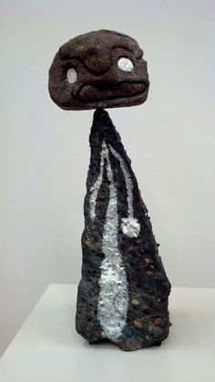 Joan Miro sculpture.