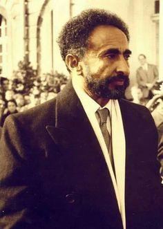 His Imperial Majesty, Haile Selassie I of Ethiopia.