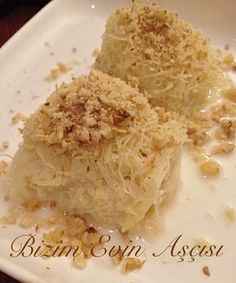 A Great Dessert . Believe this dessert I want to share the recipe . Great Desserts, Delicious Desserts, Yummy Food, Sweet Recipes, Snack Recipes, Cooking Recipes, Tolle Desserts, Happy Cook, Turkish Recipes