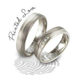 Not Applicable Not Applicable Not Applicable Jewelries OE wedding ring with fingerprinted engraving 44865