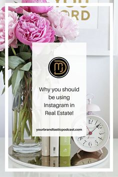 Dina Marie Joy's talks to you about why you should be using Instagram in Real Estate. Also, join the FREE Instagram Course created just for Realtors.