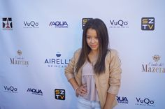 """Actress Celia Ramirez, ABC """"The Fosters"""" at the Destination Style Penthouse by StyleshopUSA with Beauty Sponsor Airelle Skincare . Celebrities received mini-facials and makoevers with Elain Cosmetics for the Red Carpet. Makeup by Rikki Ronnae. Couture provided by International Designers Producer Jane S. Linter for SZTV Media Group"""