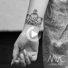 Wrist Tattoos For Women, Tattoos For Women Small, Mandala Wrist Tattoo, Weekend Fun, Mac, Times, Check, Instagram, Xmas