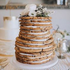 Party (cookie) cake. Layered.