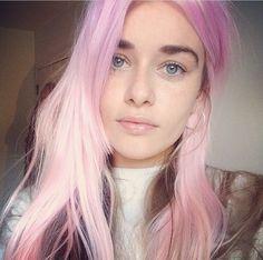New hair pastel rose bleach london Ideas Ombré Hair, New Hair, Hair Inspo, Hair Inspiration, Cabelo Ombre Hair, Pastel Pink Hair, Pastel Lips, Pale Pink, Purple