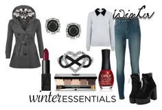 """""""Wunter Fun"""" by herojohnson on Polyvore featuring J Brand, Edit, WearAll, NARS Cosmetics, Bobbi Brown Cosmetics, ORLY, Jewel Exclusive and Mark Broumand"""
