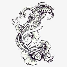 Henna peacock tattoo idea- good if for henna-inspired half sleeve Henna Tattoo Designs, Mehndi Designs, Tattoo Ideas, Henna Peacock, Peacock Art, Peacock Design, Peacock Tattoo Side, White Peacock, Stencils Tatuagem