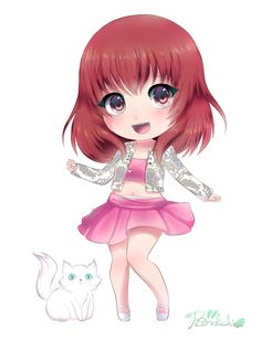 Alyssa : Chibi commission by Pandichi on DeviantArt