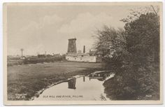 Pilling Old Mill & River Lancashire Postcard | eBay