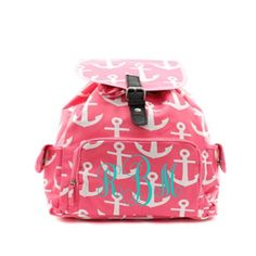 A personal favorite from my Etsy shop https://www.etsy.com/listing/234965931/monogrammed-fashion-backpack-large
